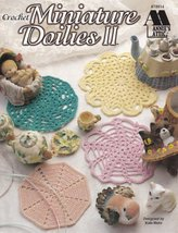 Miniature Doilies II Crochet Mum Windmill Decapoint Ferris Wheel Carnation  - $5.99