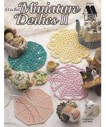 Miniature Doilies II Crochet Mum Windmill Decapoint Ferris Wheel Carnation  - $5.99