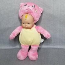 Madame Alexander My First Baby Doll Plush Pink Vinyl Head 2014 Cat Hallo... - $12.56
