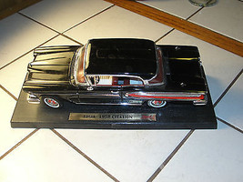 1:18 scale 1958 Edsel Citation, handmade, precision replica die-cast parts - $55.01