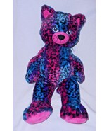 Build a Bear Wild About Spots Cat Leopard Print Plush Stuffed Animal Pin... - $15.82