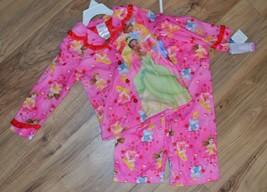 NWT Girls Disney Princess 2 pc Shirt & Pants Pajamas Set ~ Pink ~ Soft ~... - $14.20