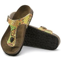 Birkenstock Papillio Gizeh Birko-Flor Sandals African Wax Gold ( 43 ) - $80.38