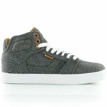 Osiris Effect Skateboarding Shoes Grey Tan White Sneakers Size 7.5 NIB