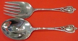 "Monticello by Lunt Sterling Silver Salad Serving Set 2pc AS 9"" - $609.00"