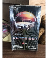 Corvette Vette Set Collector's Cards Box Case of 36 Packs 1991 Inaugural... - $12.45