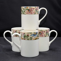 Royal Doulton Jacobean * 4 MUGS / CUPS * Everyday, Floral, EXC! - $24.99