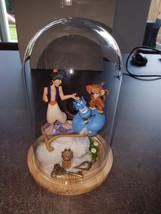 Extremely Rare! Walt Disney Aladdin in Cloche Diorama Figurine Statue - $121.42