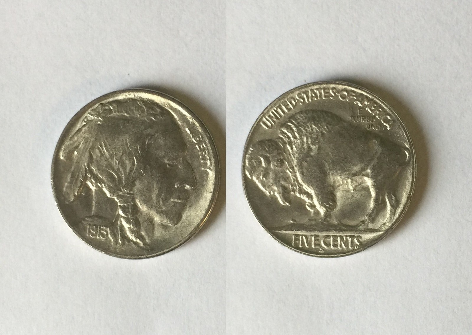 SET OF 2 COINS 1923 P and S Buffalo Nickel G VG FREE SHIPPING