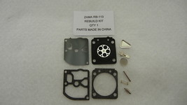 CARBURETOR C1Q K73 , K73A REPAIR KIT FOR ZAMA CARB OEM KIT RB 113 - $7.80