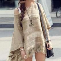 Batwing Sleeve Knit Women Sweater - $29.00
