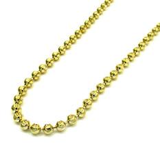 Mens Womens 14KT Gold Diamond Cut Moon 2MM Chai... - $319.20 - $438.90