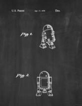 Star Wars R2-D2 Patent Print - Chalkboard - $7.95+