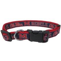 Ole Miss Rebels Dog Collar NCAA Pet Gear - $14.75