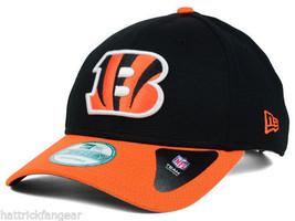 Cincinnati Bengals 9Forty Fundamental Tech NFL Team Logo Cap Hat - $20.85