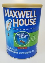 Maxwell House Ground Coffee 2, 11oz Canisters (Original Roast Decaf) - $18.61