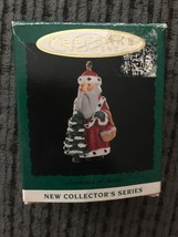 Miniature Hallmark Keepsake Centuries of Santa #1  1994 - $2.95