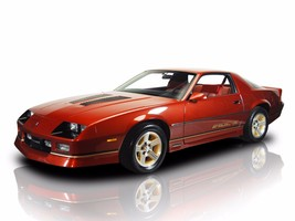 1986 Chevy Camaro IROC- Z dark red,  24 x 36 INCH POSTER,  sports car - $18.99