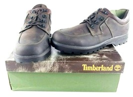 Timberland Smart Comfort Size 12M Men's Brown Gaucho Oiled Shoes Leather w/ Box - £49.68 GBP