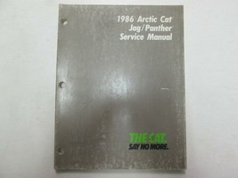 1986 Arctic Cat Jag Panther Snowmobile Service Repair Shop Manual OEM - $24.74