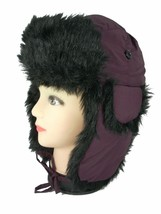 Scala Pronto Trapper Aviator Bomber Hat Faux Fur Unisex Junior - $24.99