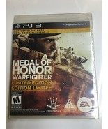 Medal of Honor Warfighter Limited Edition (PS3) Playstation 3 NEW SEALED... - $10.50