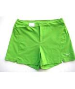 Nike Women's Dri-Fit MMIV Athletic Gym Workout Shorts M (8-10) Bright Green - $19.79