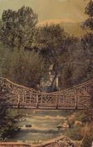Bridge Mansion Park Manitou Colorado CO 1910 Springs to Mankato MN Postc... - $5.99