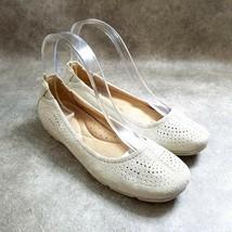 Naturalizer Womens Yadira  Size 6 Tan  Leather Slip On Ballet Flats - $19.99