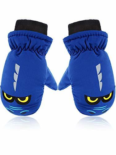 Primary image for Snow Mittens Winter Ski Mittens Unisex Gloves Kids Waterproof Warm Cotton-lined