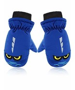 Snow Mittens Winter Ski Mittens Unisex Gloves Kids Waterproof Warm Cotto... - €9,48 EUR