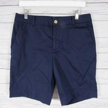 Ralph Lauren Pantalones Cortos Mujer 10 Azul Marino - $45.95