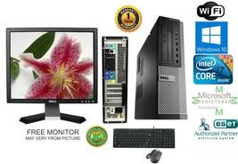 Dell 7010 DESKTOP Intel i7 3770 3.40g 16GB 1TB SSD Win 10 Pro +Monitor GT-740 - $594.00
