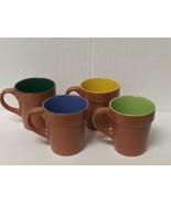 Set of 4 Ceramic Coffee Mugs - Gardens of Color - $12.19