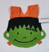 Carter's Halloween Bib Terry Cloth Frankenstein's Monster Bib Snap Closure - $9.00