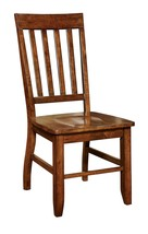2 Piece Dining Chair Set Side Kitchen Solid Wood Dark Oak Wooden Living ... - €212,33 EUR