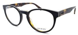 GUESS GU1932 002 Men's Eyeglasses Frames Round 51-20-140 Matte Black / H... - $64.25