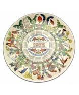 Wedgwood Calendar Plate Robins Calendar Plate 1976 Bird Plate Robin Plate - $31.57