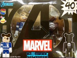 Medi Com Toy Marvel Nick Fury Shield American Comic Movies - $93.89