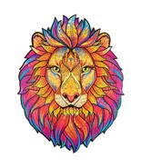 """Unidragon Wooden Jigsaw Puzzles """"Mysterious Lion"""" Wooden Puzzles Animals - S[... - $39.99"""
