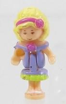 1996 Vintage Polly Pocket Dolls Sweet Roses - Polly Bluebird Toys - $7.50