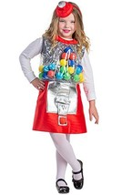 Dress Up America Gumball Machine Costume - Size Large 12-14 - $36.29