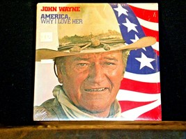 John Wayne, AMERICA , Why I love Her RCA Record AA-191743  Vintage Collectible