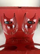 RIEDEL Vivant Bordeaux Red Wine Glasses Set of 2 New in Box 26oz Crystal - $31.18
