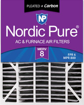 20x25x6 Aprilaire Space-Gard 2200 Replacement Air Filter MERV 8 + Carbon 1 Pack - $40.62