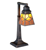 "20""H  Diamond Craftsman Desk Lamp - 27881 - £157.98 GBP"