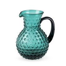Glass Pitcher, Country Cottage Hobnail Water Coffee Vintage Kitchen Pitc... - $47.99