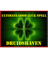 ULTIMATE GOOD LUCK SPELL for POWERFUL good luck in all areas of your life money  - $39.97