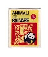 Animali da Salvare Sealed Pack Stickers Club 1972 - $3.00