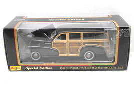 Maisto 1:18 1948 Chevrolet Chevy Fleetmaster Woody Die Cast Metal SE New... - $33.65